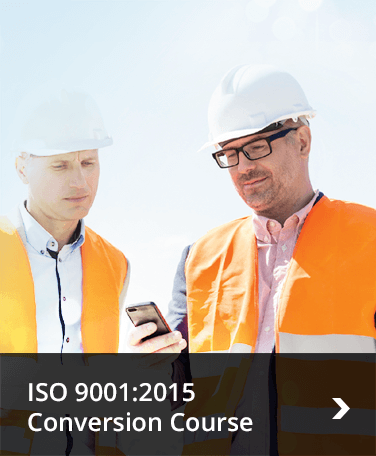 ISO 9001:2015 Conversion